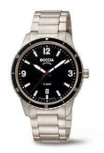 Boccia Titanium 3635-03 horloge - Titanium - Zilverkleurig - 42 mm