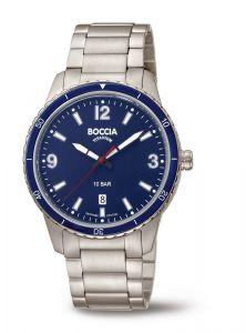Boccia Titanium 3635-04 horloge - Titanium - Zilverkleurig - 42 mm