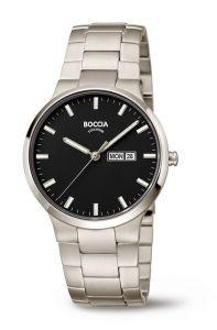 Boccia Titanium 3649-03 horloge - Titanium - Zilverkleurig - 39 mm
