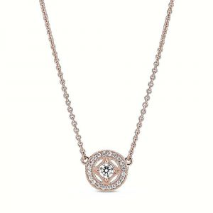 PANDORA Vintage Circle Collier Ketting 380523CZ