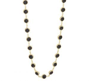 Collier onyx 4,5 mm 80 cm - PSN4020107
