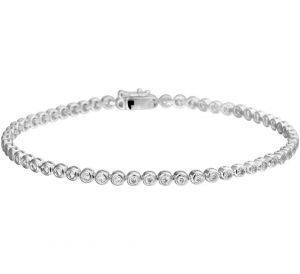 Armband diamant 2,9 mm 18 cm 1.00ct G SI - PSN4104577