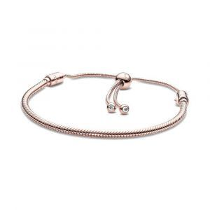 PANDORA Moments Snake Chain Sliding Armband 587125CZ