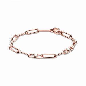 PANDORA Link Chain & Stones Armband 589177C01