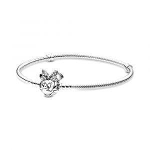 PANDORA Disney, Glinsterende Minnie armband 597770CZ