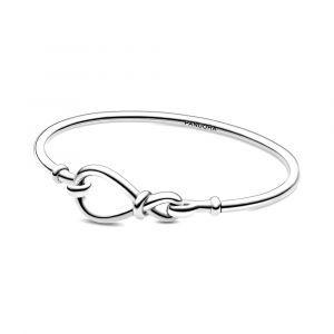 PANDORA Infinity Knot Bangle 598893C00