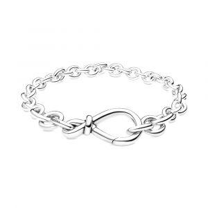 PANDORA Chunky Infinity Knot Schakelarmband 598911C00