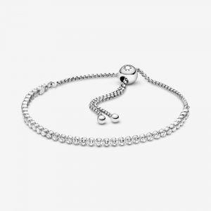 Pandora Sprankelende Sliding Tennis Armband 599375C01