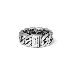 BUDDHA TO BUDDHA ring 601 Nathalie Small Zilver