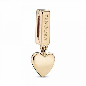 PANDORA Heart Dangle Clip Bedel 768672C00