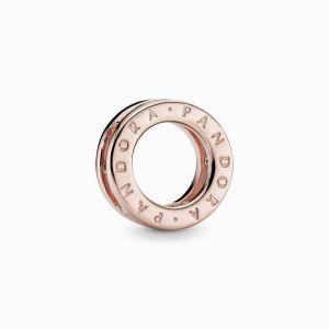 PANDORA Logo Circle Clip Bedel 787598