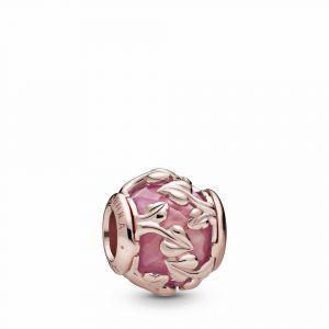 PANDORA Roze Decoratieve Bladeren Bedel 788238SSP