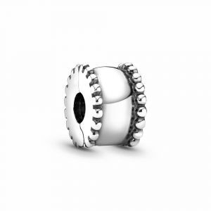 PANDORA Beaded Round Clip Bedel 790267