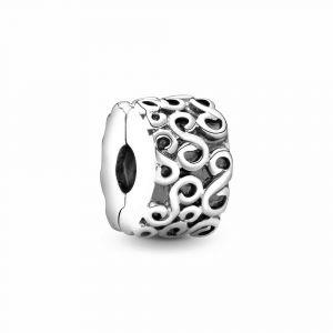 PANDORA Swirl Clip Bedel 790338