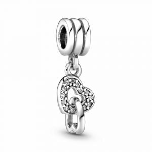 PANDORA Interlocking Hearts Bedel 791242CZ