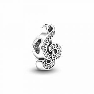 PANDORA Treble Clef Music Bedel 791381CZ