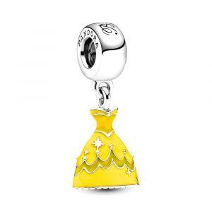 PANDORA Disney Belle en het Beest Belles Jurk Hangende Bedel 791576ENMX