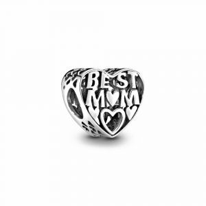PANDORA Best Mother Opengewerkte Heart Bedel 791882
