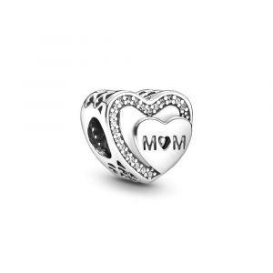 PANDORA Sparkling Mum Heart Bedel 792070CZ