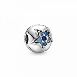 PANDORA Bright Blue Star Bedel 796380NSBMX