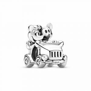 PANDORA Disney, Minnie Mouse & Mickey Mouse Car Bedel 797174