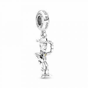 PANDORA Disney Pixar, Toy Story, Woody bedel 798041ENMX