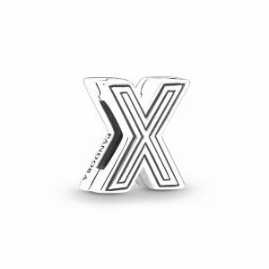 PANDORA Reflexions Letter X Clip 798220