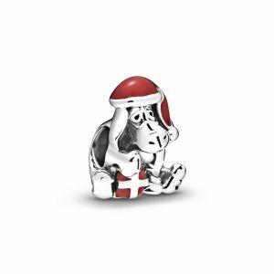 PANDORA Disney Eeyore Christmas Bedel 798449C01