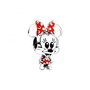 PANDORA Bedel Disney, Minnie Dotted Dress & Bow 798880C02