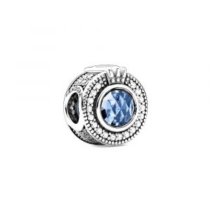 PANDORA Bedel Sparkling Blue Crown O 799058C01
