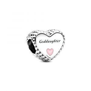 PANDORA Bedel Goddaughter Heart 799147C01
