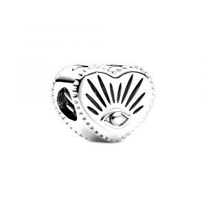 PANDORA Bedel All-seeing Eye & Heart 799179C00