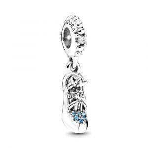 PANDORA Bedel Disney Cinderella Shoe & Mice 799192C01