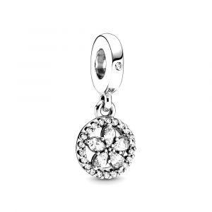 PANDORA Bedel Sparkling Snowflake Circle 799222C01