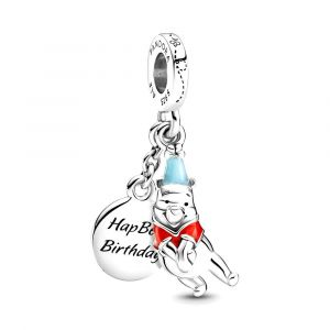 PANDORA Disney Winnie the Pooh Birthday Dangle Bedel 799385C01