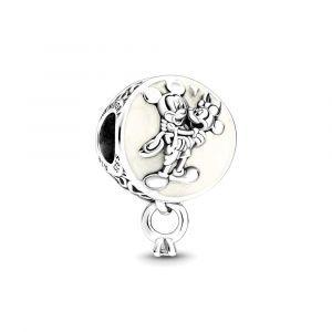 PANDORA Disney Mickey Mouse & Minnie Mouse Eternal Love Bedel 799395C01