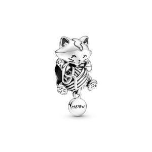 Pandora Kitten & Bol Wol Bedel 799535C00