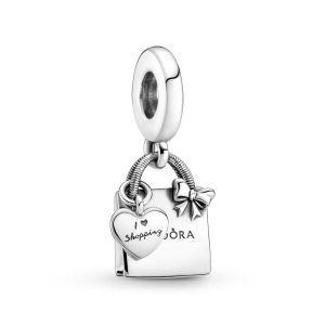 Pandora Boodschappentas Hangende Bedel 799536C00
