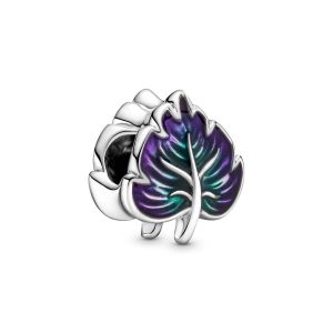 Pandora Paars & Groen Blad Bedel 799542C01