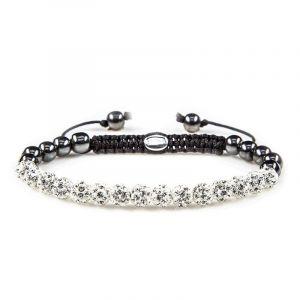 KARMA armband 82087 Spiral Full Crystal XS (white crystal)