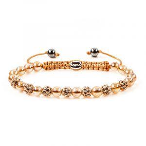 Karma Armband 82192 Spiral Indian Summer XS (Rose Crystal)