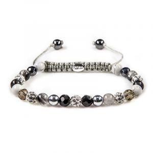 Karma Armband 82341 Spiral Hush Hush XS (White Crystal)