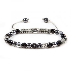 KARMA armband 82342 Spiral Africa Child XS (White Crystal)