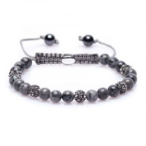 Karma Armband 82868 Spiral Every time I think of You XS (Grey Crystal)