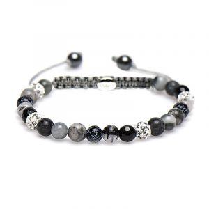 Karma Armband 83220 Spiral Freesia XS (White Crystal)