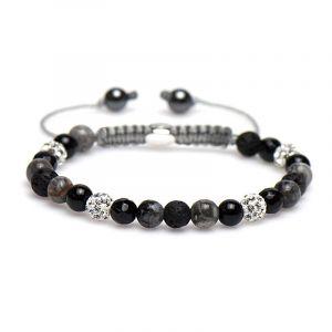 Karma armband 83222 Spiral Fox XS (White Crystal)