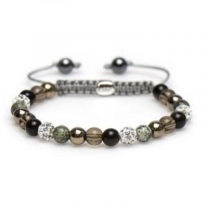 Karma Armband 83322 Spiral Maryon XS (White Crystal)