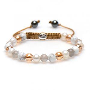 KARMA armband Spiral Best Beige XS (whitecrystal) 83443