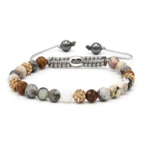 Karma Armband 83459 Spiral Brilliance XS (Gold Crystal)