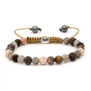 Karma armband 83556 Spiral Engagement XS (Rose Crystal)